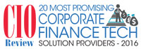 Top 20 Corporate Finance Tech Solution Providers - 2016