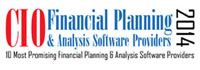 Top 10 Financial Planning & Analysis Software Providers - 2014