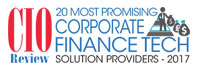 Top 20 Corporate Finance Technology Solution Providers - 2017
